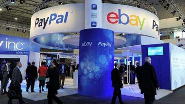 PayPal和ebay完成分拆