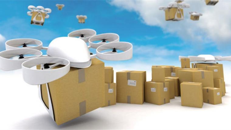 """亚马逊获得""""蜂巢""""专利,未来将由无人机送货。"""