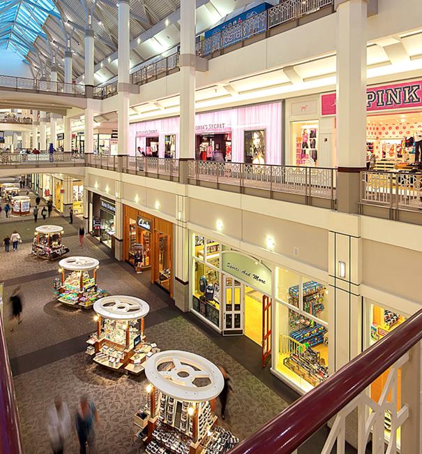 震惊!从美国购物中心通道中爆发的零售新商机?