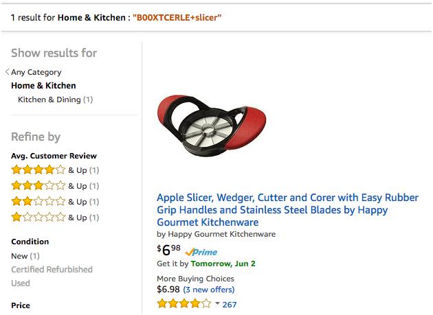 亚马逊卖家如何查看自己的产品是否被特定关键词索引?
