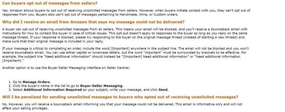 发送的邮件被拒收退回,亚马逊卖家会被平台惩罚吗?