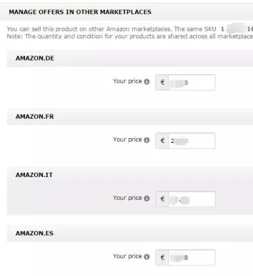 亚马逊欧洲站产品同步上架方法