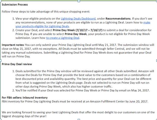 成功拿下2017亚马逊Prime Day,除了选品和运营,还得靠这份指南