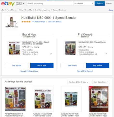 效仿亚马逊,eBay要推出Buy Box ?