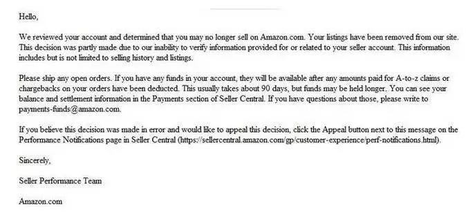 亚马逊新账号被封的六种原因,你是因为哪个被封号