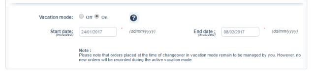 最全跨境电商平台假期(休假)模式设置攻略