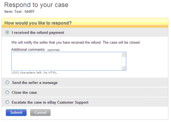 eBay未收到货纠纷case如何处理?