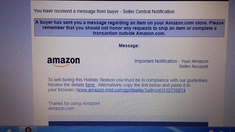 警告!骗子利用亚马逊两步验证方式诱骗卖家银行信息,你上当了吗?