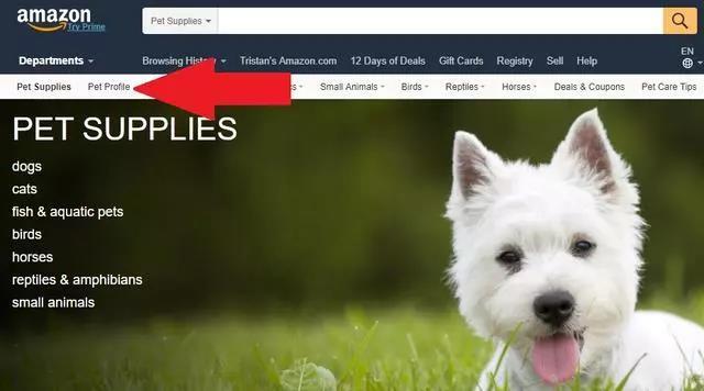 为了扩大市场份额,亚马逊推出宠物主页新功能