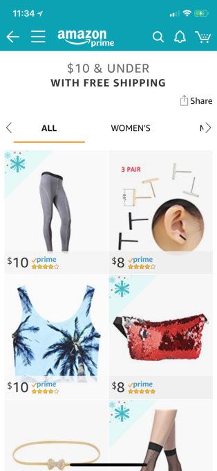 """亚马逊悄然推出""""$10 & Under""""销售低价产品,和Wish杠上了?"""