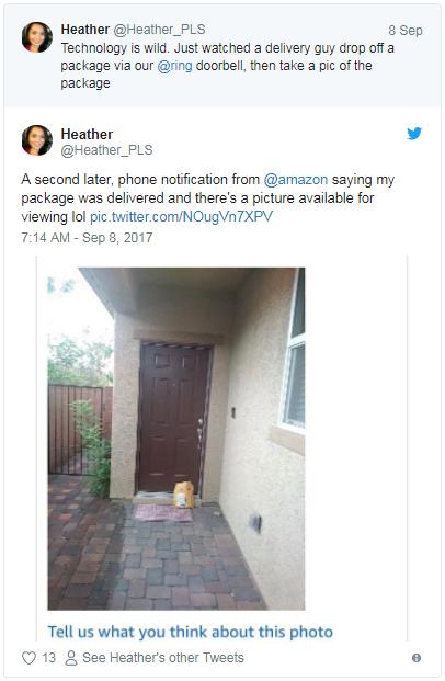 """""""你的包裹已送达""""!亚马逊推妥投拍照确认服务"""