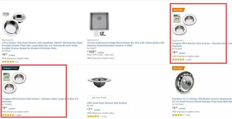 关于Amazon's Choice标识,你该知道的那些事
