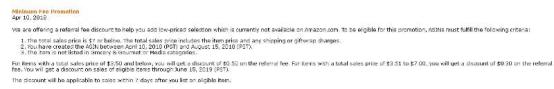 亚马逊开放低价产品佣金折扣!说到底它省钱吗?