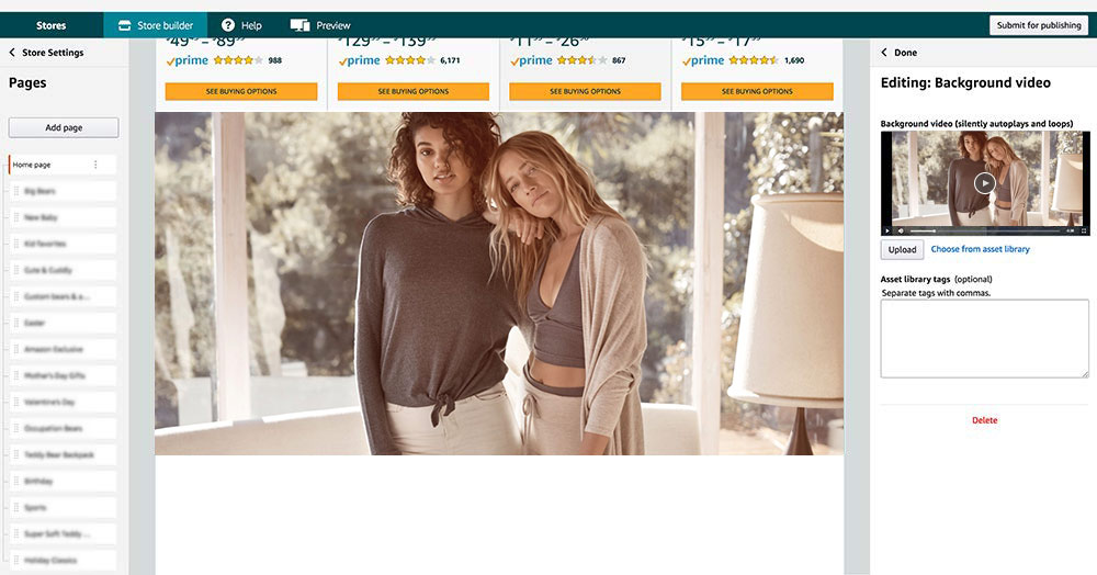 解读亚马逊品牌旗舰店3大新功能,你都用上了吗?
