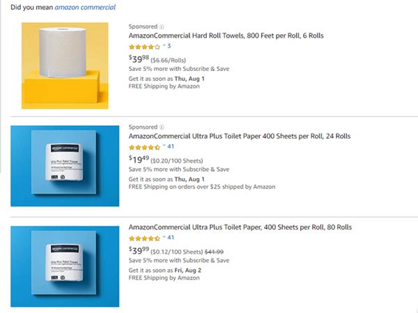 亚马逊再次开拓自有品牌城池,首推B2B品牌AmazonCommercia