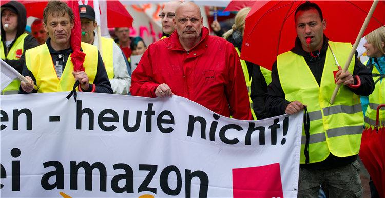 亚马逊意大利和德国大批员工计划在黑色星期五罢工